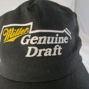 6fd28c07a41 K Brand Accessories - Miller Genuine Draft Cap Snapback Trucker Hat